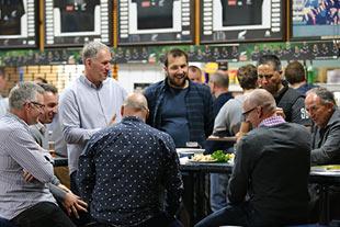 Legends catching up at Fraser Tech