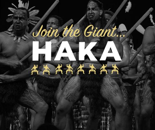 Giant Haka promo