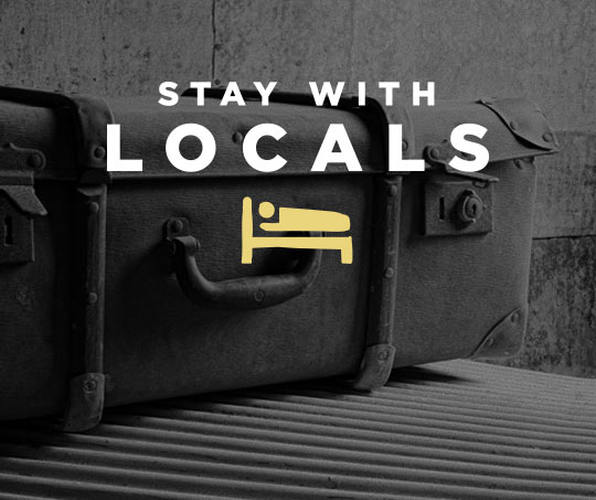 Stay with Locals promo